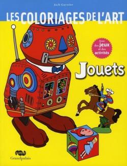 Les coloriages de l'art, jouets