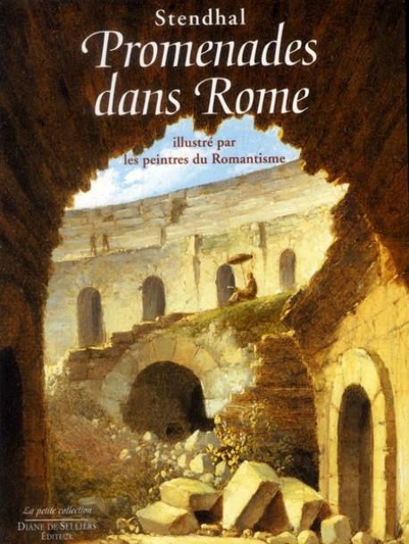 Promenades dans Rome, illustré par les peintres du Romantisme