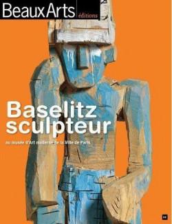 Baselitz sculpteur au musee d'art moderne de la ville de paris, hors série