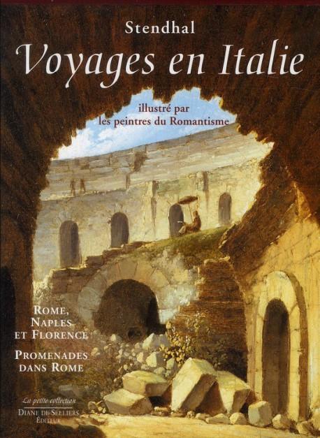 Coffret Voyages en Italie, illustrés par les peintres du Romantisme