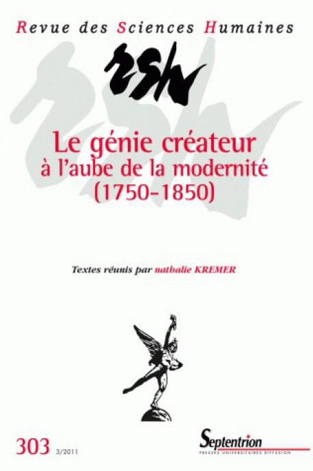 Le génie créateur à l'aube de la modernité (1750-1850)
