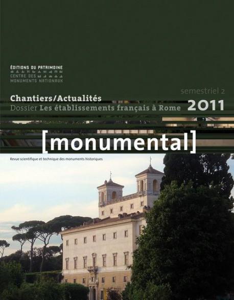 Monumental 2011, 2e semestre