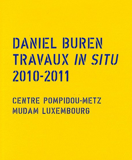 Daniel Buren - Travaux in situ 2010-2011