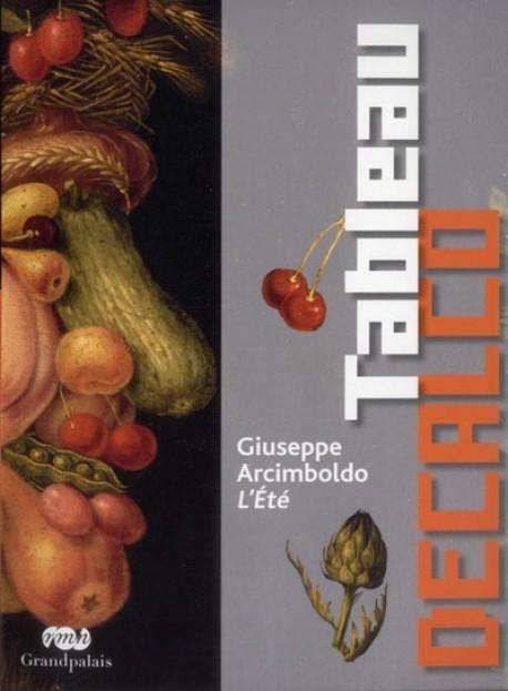 Art pour enfant : Tableau décalco de L'Eté, de Giuseppe Arcimboldo