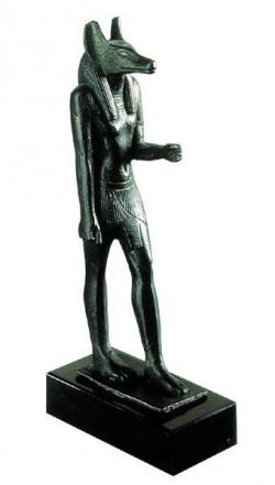 Moulage sculpture - Dieu Anubis (résine)