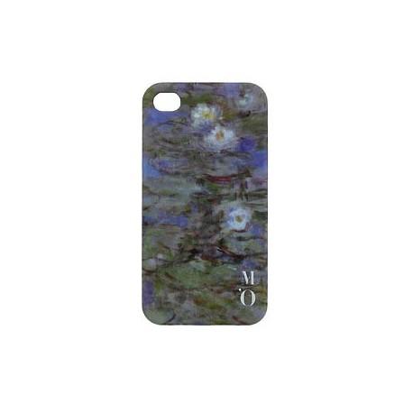 Coque IPhone Arty - Nymphéas bleus