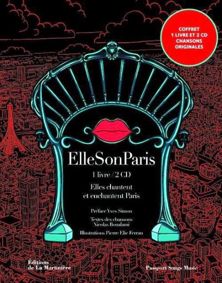 ElleSonParis, elles chantent et enchantent Paris (Coffret livre + 2 CD)