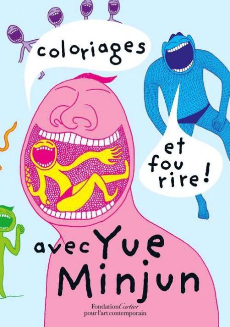 Art pour enfant Coloriages et fou rire avec Yue Minjun