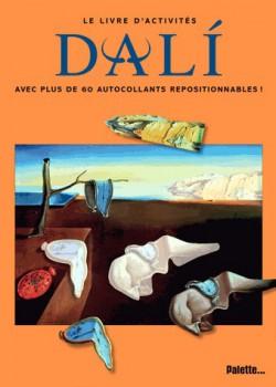 Livre d'art enfant - Livre d'activités Dali