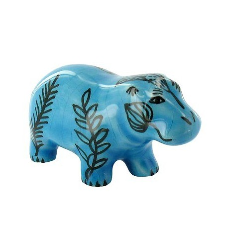 Small blue hippopotamus, Egyptian Replica - French Museums Gift Shop