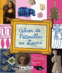 Art pour enfant - Cahier de patouilles au Louvre
