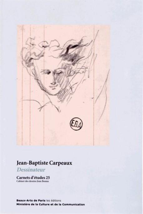 Carnet d'études ENSBA n°25 - Jean-Baptiste Carpeaux, dessin