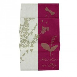 Tea Towel Louis XIV Herbarium - French Museums' Gift Store