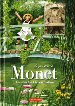 Livre d'art enfant - Le jardin de Monet