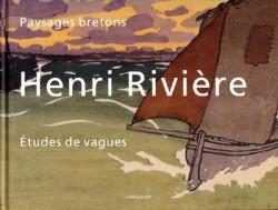 Henri Riviere, paysages bretons, études de vagues