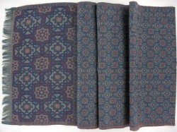 "Blue Scarf ""Alhambra"" - National Museum of Medieval Art, Paris"