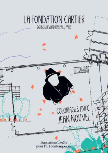 Art pour enfants - Coloriages avec Jean Nouvel
