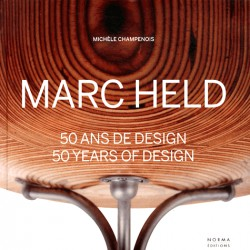 Marc Held  50 years of design (Bilingual edition)