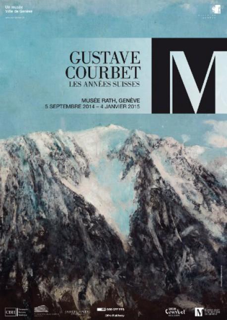 Gustave coubert, les années suisses - Musée Rath, Genève
