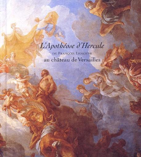 L'Apothéose d'Hercule de François Lemoyne au château de Versailles.