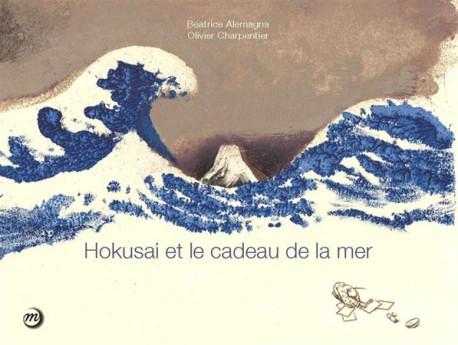 Livre d'art Enfants - Hokusai et le cadeau de la mer