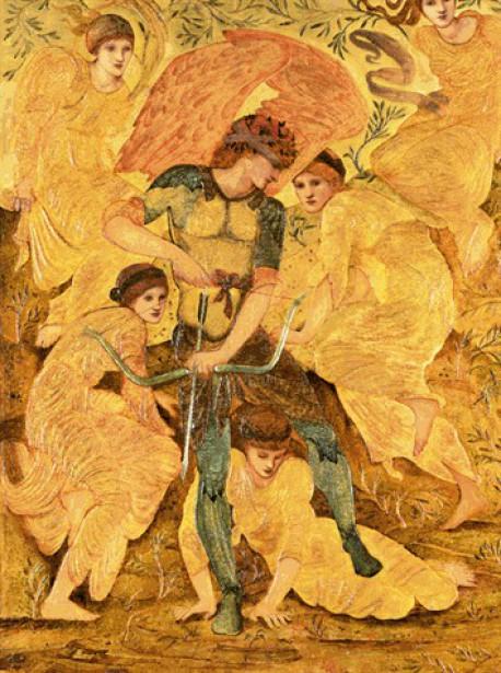Yvain et Lancelot - Chrétien de Troyes illustrés par la peinture préraphaélite