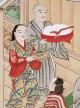 Des mérites comparés du saké et du riz - Illustré par un rouleau japonais du XVIIe siècle