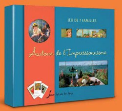 Jeu de 7 familles - Autour de l'impressionnisme