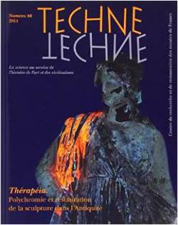 Techne n°40 - Thérapéia - Polychromie et restauration de la sculpture dans l'Antiquité