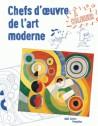 Art pour enfants - Chefs d'oeuvre de l'art moderne à colorier