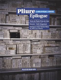 Catalogue d'exposition Pliure Epilogue (La bibliothèque, l'univers) - ENSBA
