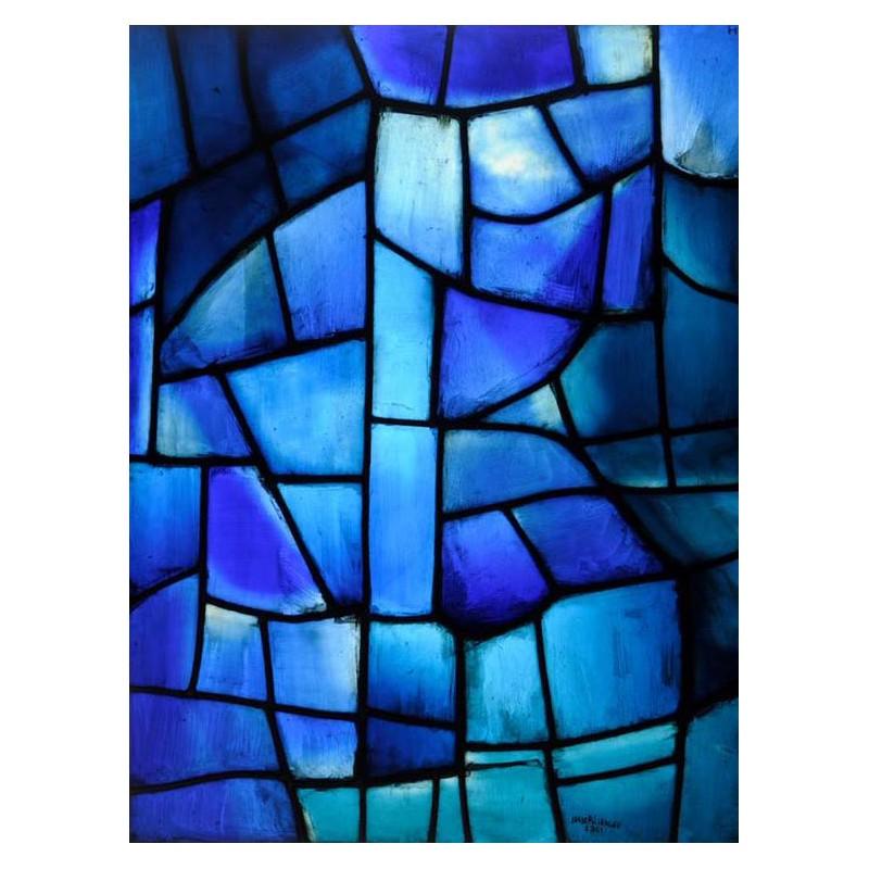 catalogue d 39 exposition chagall soulages benzaken le vitrail contemporain. Black Bedroom Furniture Sets. Home Design Ideas