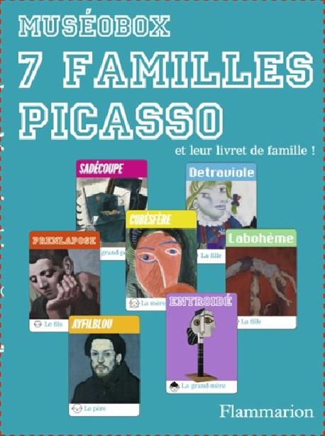 Art pour enfants - Jeu 7 familles Picasso