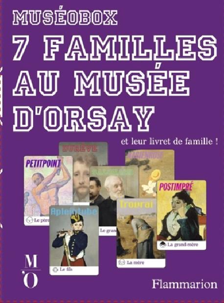 Art pour enfants - Jeu 7 familles au Musée d'Orsay