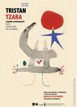 Catalogue d'exposition Tristan Tzara, l'homme approximatif
