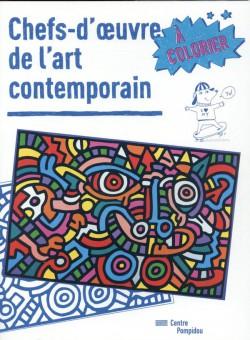Chefs-d'oeuvre de l'art contemporain à colorier
