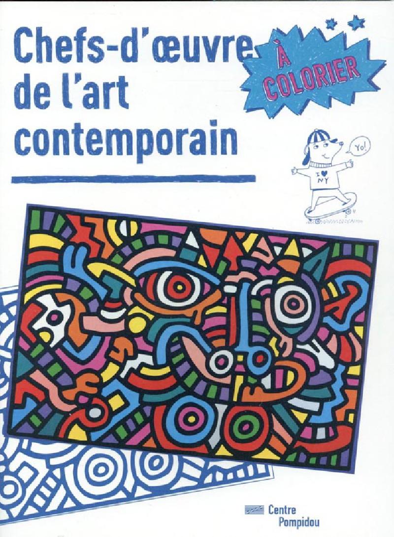Chefs d 39 oeuvre de l 39 art contemporain colorier - Chef d oeuvre ...