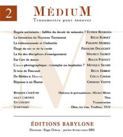 Revue Médium N°2 - janvier-février-mars 2005