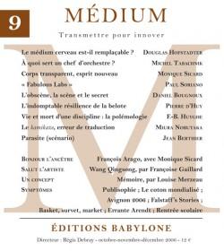 Revue Médium N°9 - octobre-novembre-décembre 2006