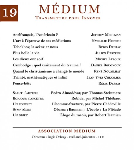 Revue Médium N°19 - avril-mai-juin 2009