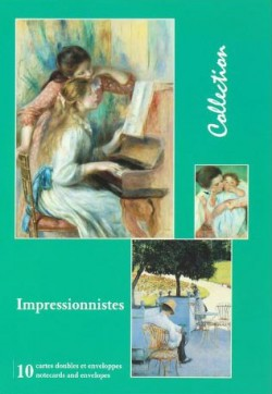 Les Impressionnistes, Cartes doubles avec enveloppes