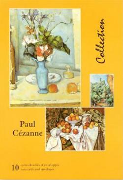 Paul Cézanne, Cartes doubles avec enveloppes