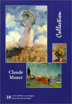 Claude Monet, Cartes doubles avec enveloppes