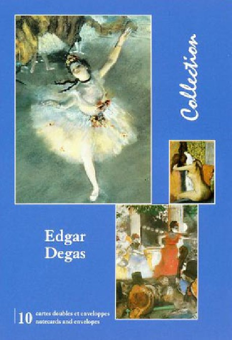 Edgar Degas, Cartes doubles avec enveloppes
