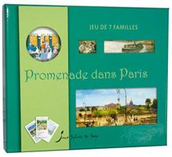 Art pour enfants - Jeu de 7 familles Promenade  dans  paris