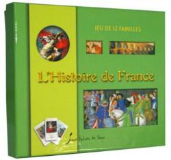 Art pour enfants - Jeu de 7 familles L'histoire de  France