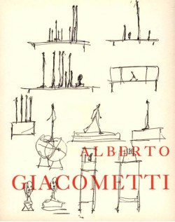 Alberto Giacometti - Pierre Matisse Gallery, New York (Edition originale)