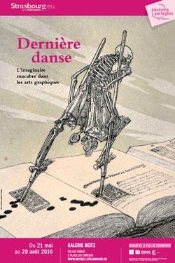 Catalogue Dernière danse, l'imaginaire macabre dans les arts graphiques