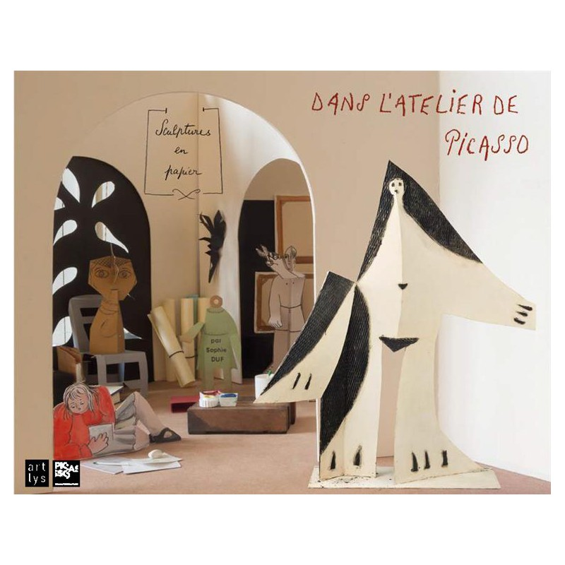 art pour enfants sculptures en papier dans l 39 atelier de picasso. Black Bedroom Furniture Sets. Home Design Ideas