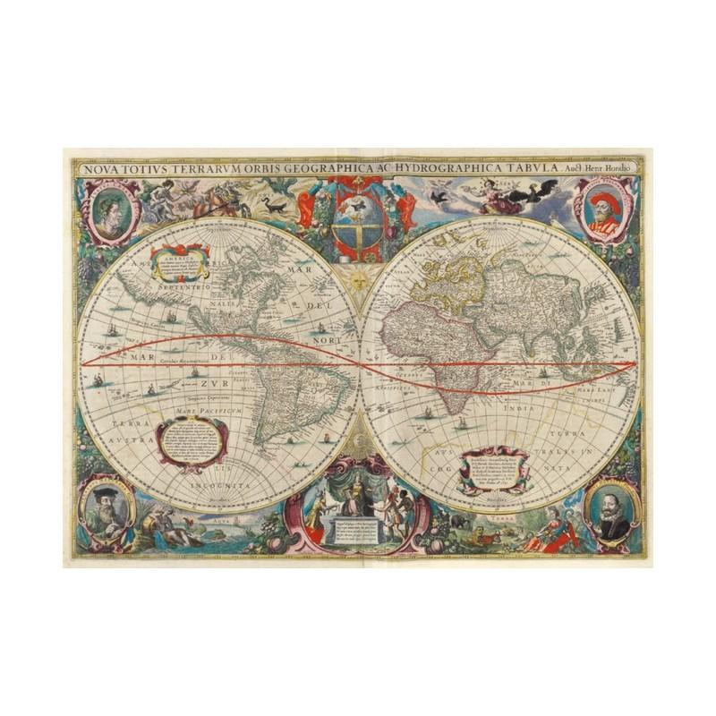 Agrandir le monde. Cartes géographiques et livres de voyage (XVe
